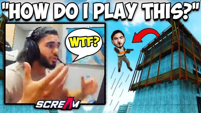 SCREAM'S FIRST TIME ON VERTIGO GOES WRONG! PRO MATCH ON MAP! CS:GO Twitch Clips