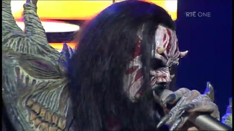 Lordi - Hard Rock Hallelujah (Late Late Show, RTÉ)