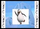 Физминутка Пингвины из Мадагаскара