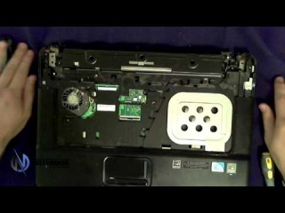 HP Compaq 610 - Disassembly and fan cleaning