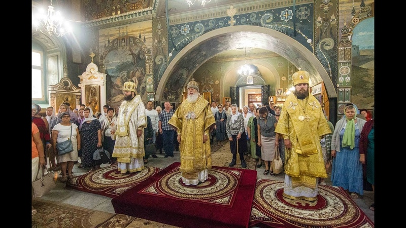Богослужение Свято-Покровском Измаильском соборе