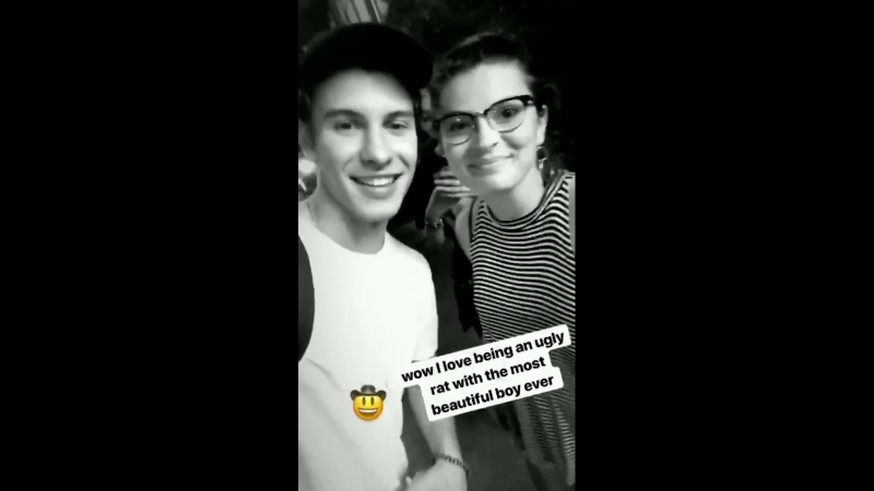 Shawn met one of the fans from the marching band that performed Stitches at the University of Texas