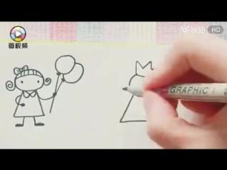Учимся рисовать    подпишись!
