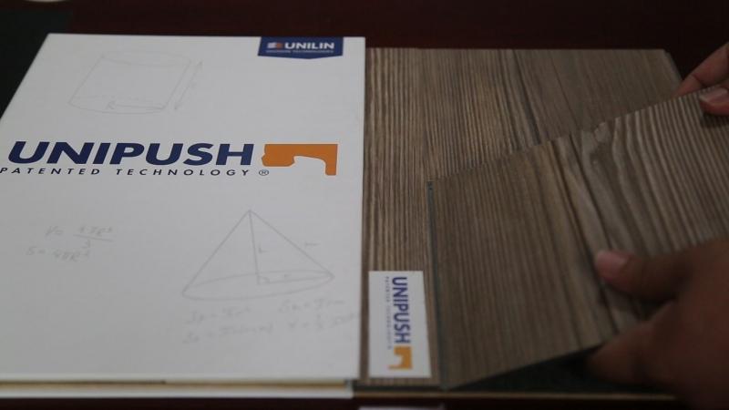 Unipush spc flooring