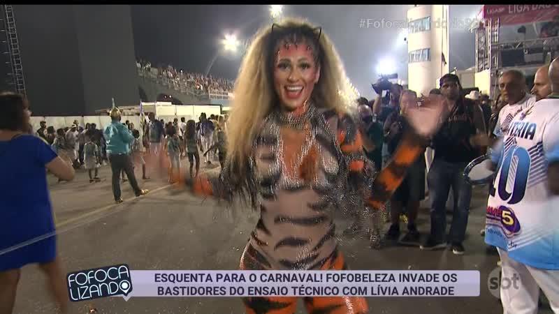 Lívia Andrade - Ensaio Carnaval