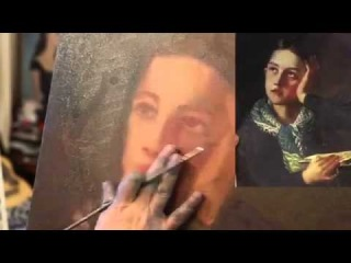 И.Сахаров, ПОЛНЫЙ УРОК ,секреты написания портрета . Сахаров