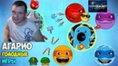 Agar.io Голодные игры - Круто поиграли и получили 9 уровень.