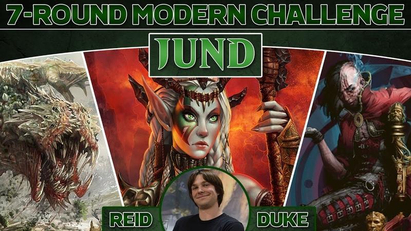 Reid Duke Plays Jund in a 7-Round Modern Challenge