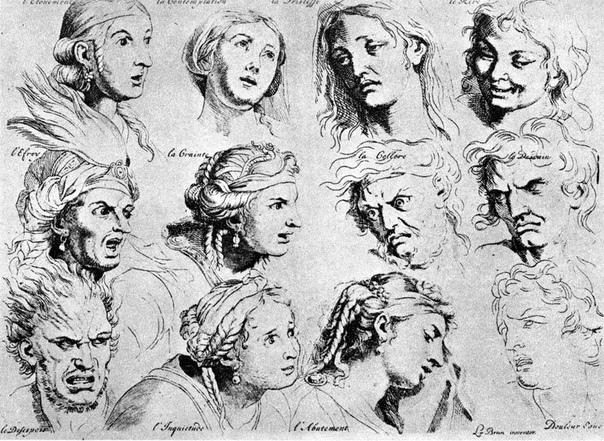 Классификация страстей по Шарлю Лебрену По представлению Аристотеля, люди связаны с богами, а животные с людьми. Он не только изучал поведенческие особенности и повадки животных, но и приписывал