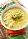 Сырный суп(с шампиньонами и брокколи)