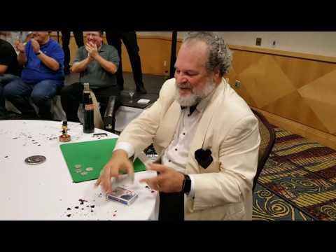 Johnny ace magic close up Super cool magic trick ala AGT STYLE PHILA TV