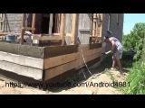 Установка поперечной арматуры и перестановка опалубки в доме из Опилкобетона (Арболита) Д 4