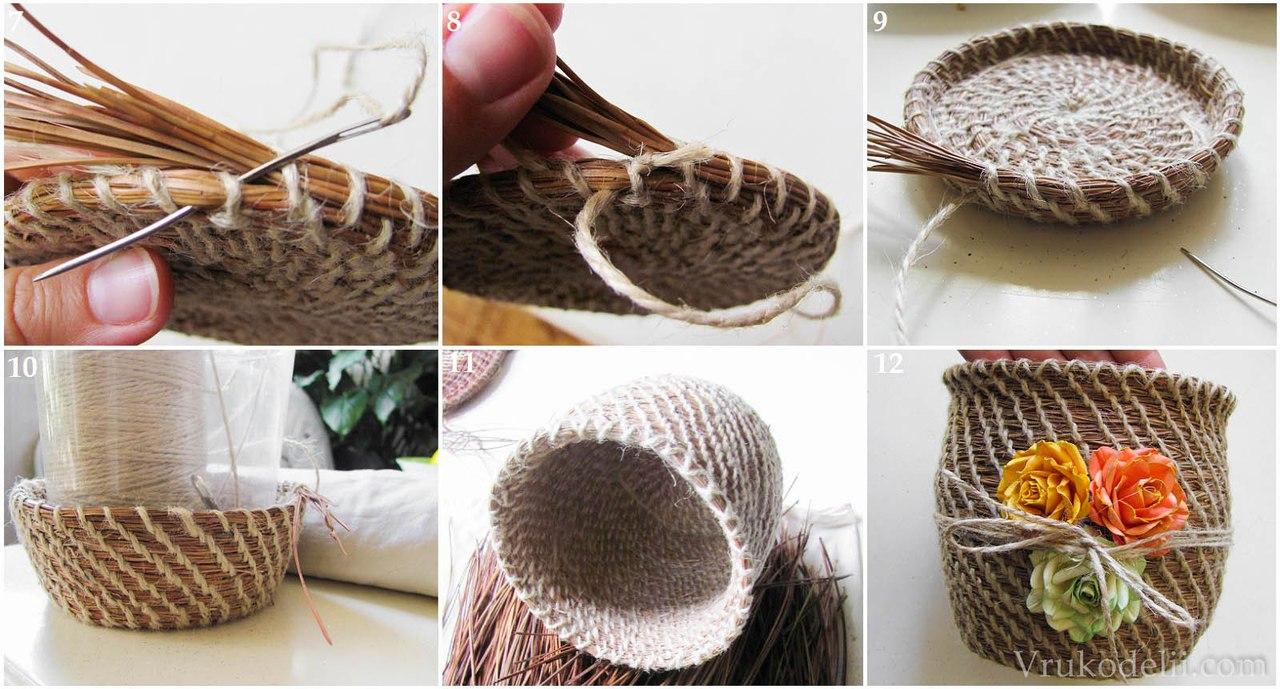 Плетение своими руками из шпагата своими руками
