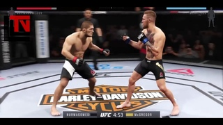 Khabib Nurmagomedov VS Conor McGregor FULL FIGHT (EA UFC 2 simulation)