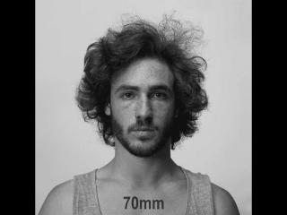 Как меняется лицо человека, при съемке на разные объективы