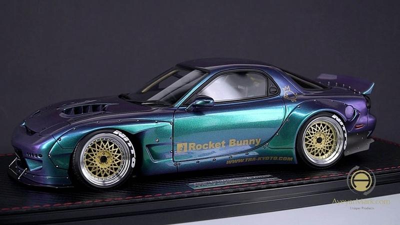 Rocket Bunny RX7 IG Models 1 18