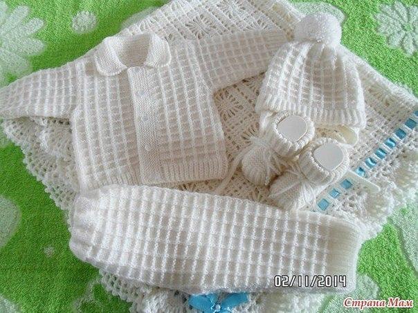 Вязание для малышей страна мам 50