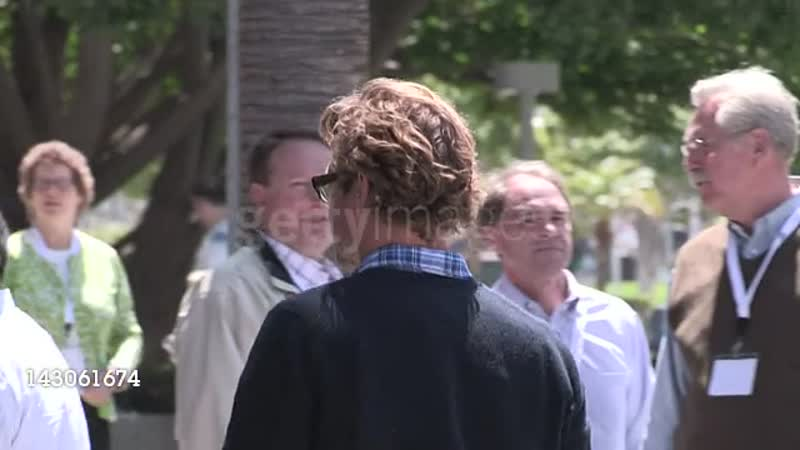 Simon Baker arrives at Staples Center in Los Angeles 041512 (Footage by WireImage VideoGetty Images Entertainment Video)