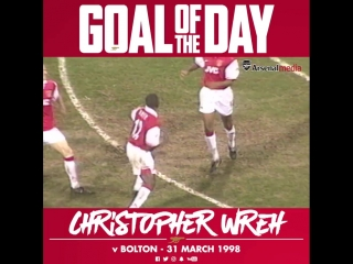 Goal of the Day: Chris Wreh