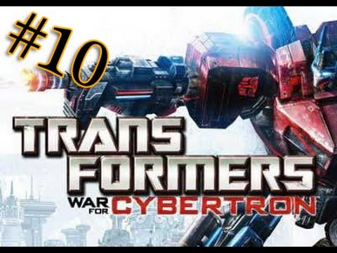 Let's play Трансформеры Битва за Кибертрон 10 серия