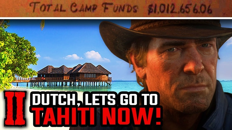 Can you Donate $1,000,000 and Go to Tahiti - Red Dead Redemption 2