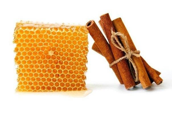 Корица с медом похудение