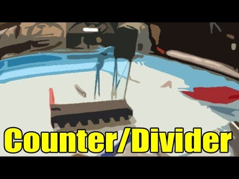 Quick look at the CD4060B CMOS Counter Divider Oscillator