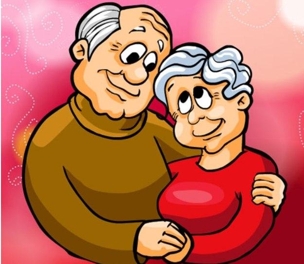 Открытка ко дню бабушки и дедушки, илью картинки надписью
