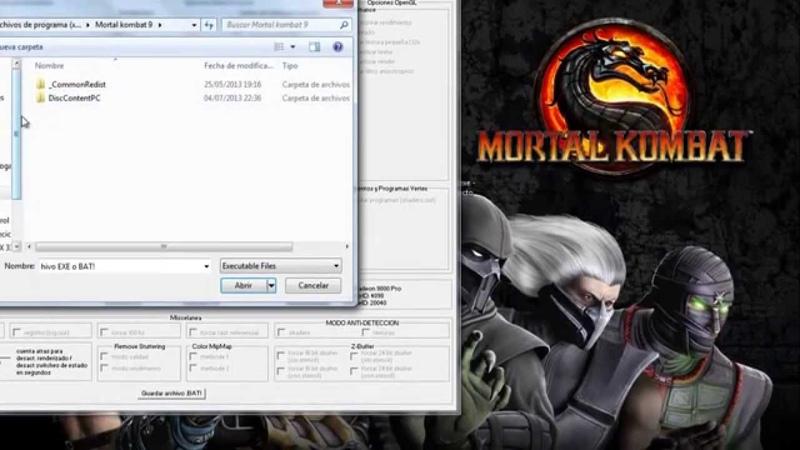 How to run Mortal kombat komplete edition on intel hd graphics fix modded config english/español