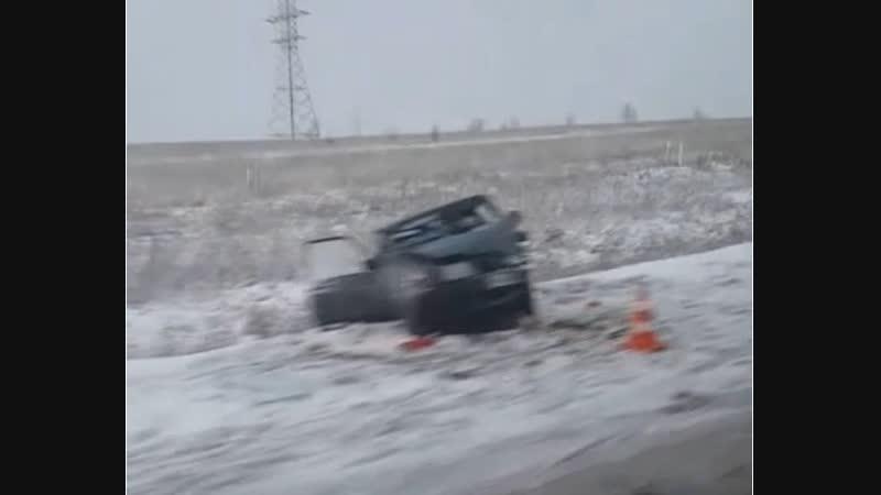 Авария на трассе Запсиб - Кузнецк