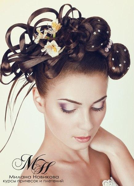 работы учениц ВКонтакте Курсы Плетения и ажурные косы в курс входят только плетения и эелементы банты многопрядные