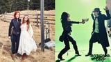 Wynonna Earp 2x11 Behind The Scenes