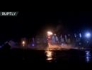Флайборд и огненное шоу в Туле