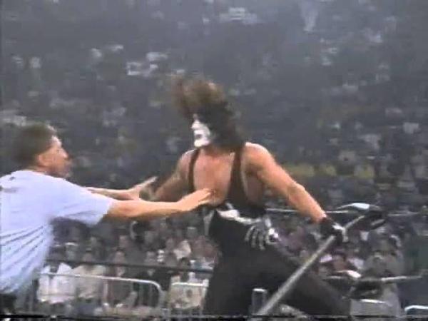 Sting Lex Luger vs Hulk Hogan Kevin Nash Thunder March 26th, 1998