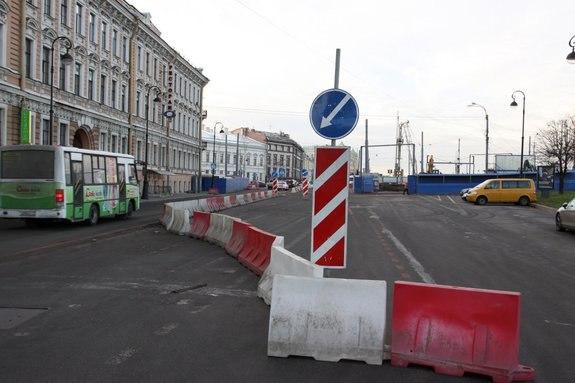 своими глазами увидел, как работает новая схема движения на Васильевском острове, и пришел к выводу, что в часы пик...