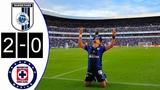Mexico I Queretaro Vs Cruz Azul Resumen Y Goles 2-0 I Liga MX 2018