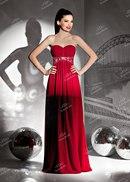 модель платья из люрекса и накитка из бархата