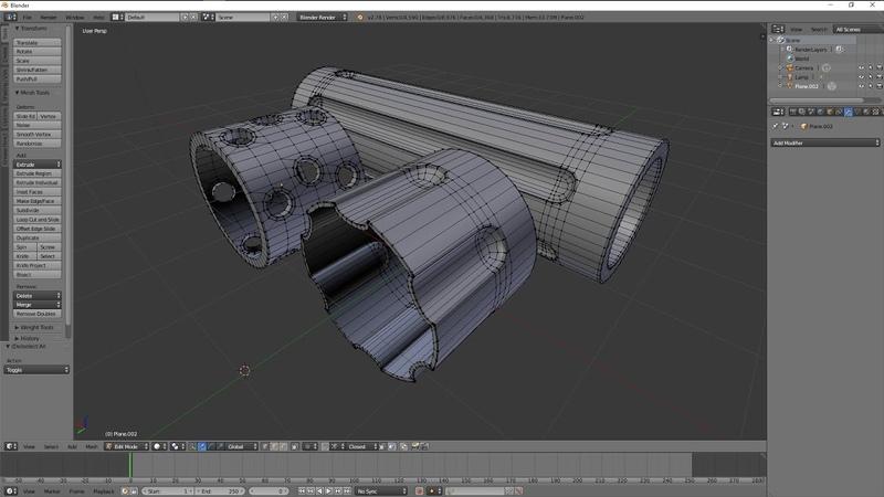 Blender 3D - Modeling Practice 3 adding details on cylindrical shapes