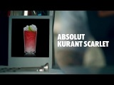 ABSOLUT KURANT SCARLET DRINK RECIPE - HOW TO MIX