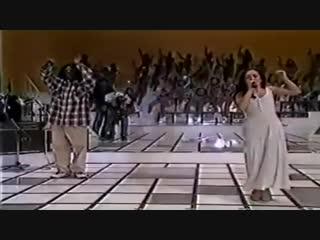 ICE MC feat. Alexia - Dark Night Rider (Live At Show Domingao Do Faustao, Brasil TV 1995)