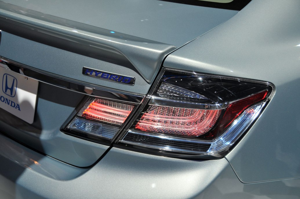 Honda Civic 4D 2013 LED tail lights
