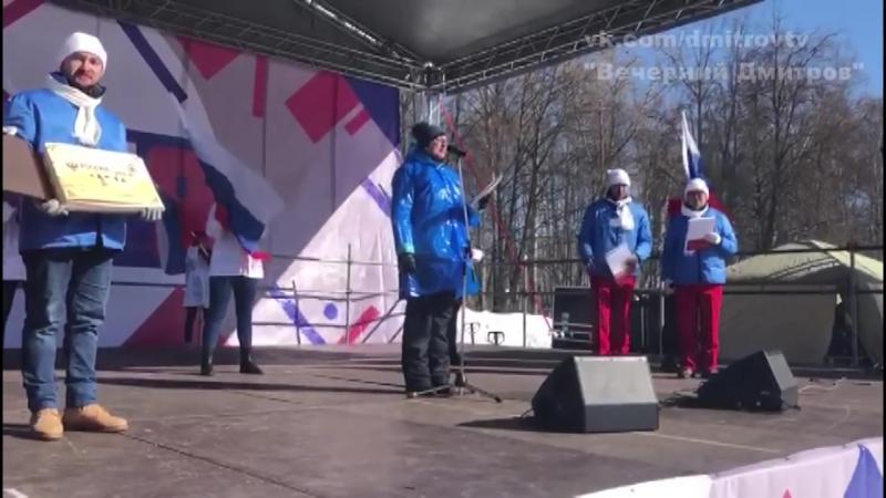 Флешмоб «Россия- это я!» с высоты птичьего полета