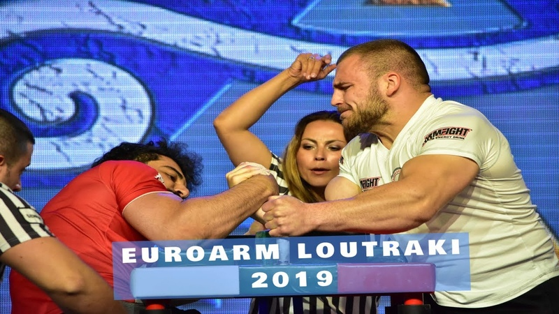 Армрестлинг ЧЕ 2019 ФИНАЛЫ ПРАВАЯ (EUROPEAN ARMWRESTLING CHAMPIONSHIP 2019 FINALS RIGHT)