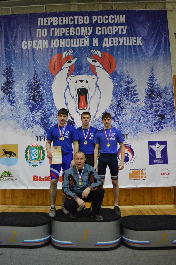 Первенство России по гиревому спорту среди юношей и девушек 15.02.2013