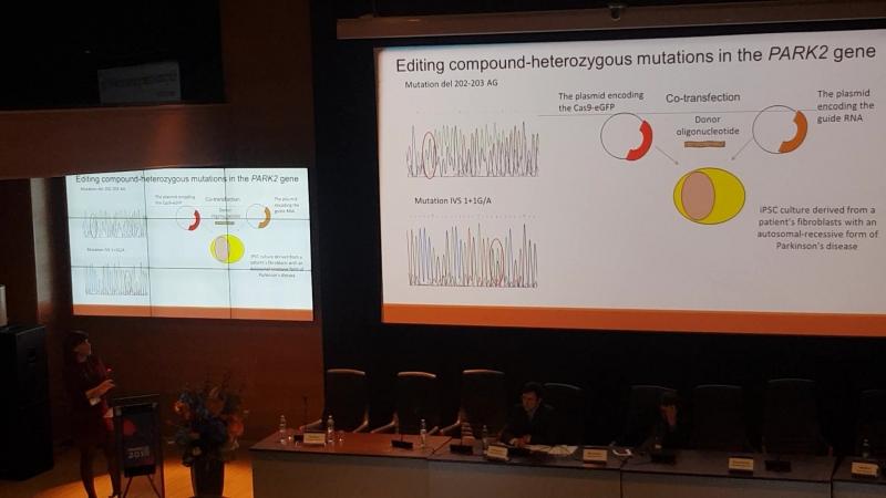 CRISPR 2018 Новосибирск   Геномное редактирование с использованием CRISPR-Cas9 в изучении клеточных моделей болезни Паркинсона