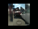 Авария на улицы Омская