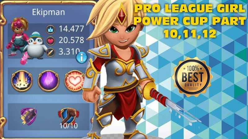Royal Revolt 2 l Pro League Girl Power Cup Part 10,11,12