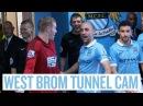 «Манчестер Сити» - «Вест Бромвич Альбион» 2:1. Камера в туннеле.