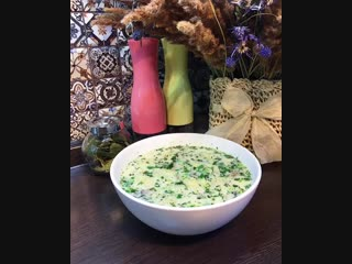 Суп с клецками и грибами (ингредиенты в описании видео)