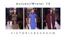 Victoria Beckham | Autumn/Winter 2012 Fashion Show